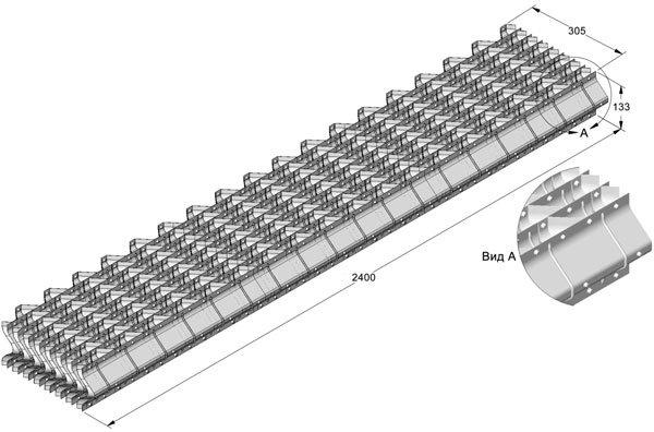 Стандартный блок водоуловителя ВС-150