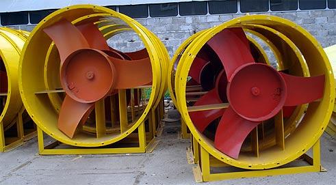 Водоснабжение, промышленные вентияторы